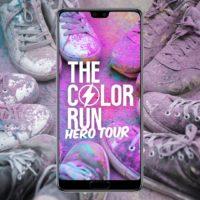 Navštivte stánek Huawei na běžecké akci The Color Run