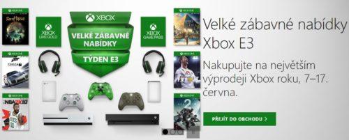 Microsoft naděluje: Xbox One X za doposud nejnižší cenu a Xbox Live a Xbox Game Pass za korunu