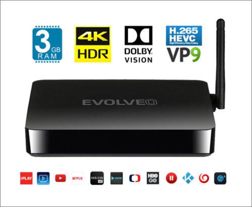 Evolveo MultiMedia Box M8: Multimediální centrum s Androidem
