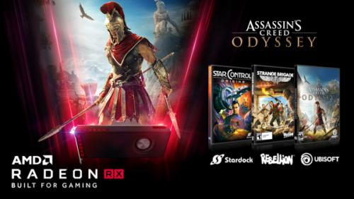 Kupte si grafiku AMD Radeon a získejte hry Assassin\'s Creed Odyssey, Star Control: Origins a Strange Brigade zdarma