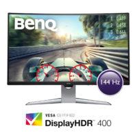 BenQ EX3203R je prohnutý monitor s VESA DisplayHDR 400 a AMD FreeSync 2