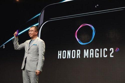 Honor Magic 2 je futuristický smartphone bez rámečků