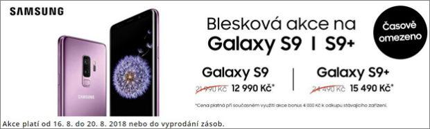 Samsung S9 můžete koupit jen za 12 990 Kč a zdarma dostanete 256GB microSD kartu