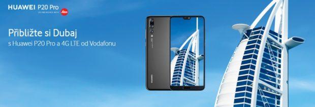 Huawei připravil s Vodafonem speciální soutěž o zájezd do Dubaje