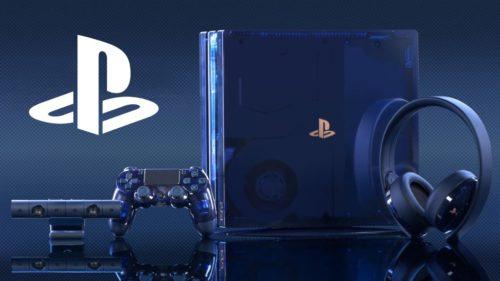 Průhledná herní konzole PS4 Pro se rychle vyprodala