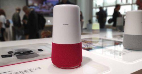 Huawei představil chytrý reproduktor AI Cube s umělou inteligencí od Amazonu