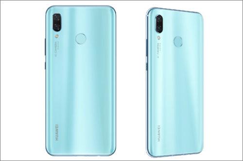 Do prodeje vstupuje Huawei nova 3 v barvě Airy Blue
