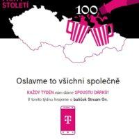 T-Mobile se připojuje k oslavám 100 let republiky, zákazníkům nabízí soutěž o stovky zajímavých výher