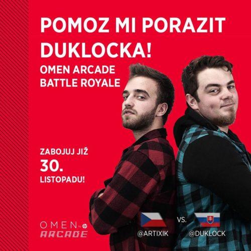 HP připravilo speciální turnaj OMEN Arcade Battle Royale pro hráče