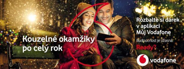 Vánoce u Vodafonu: dárky bude operátor nadělovat po celý rok
