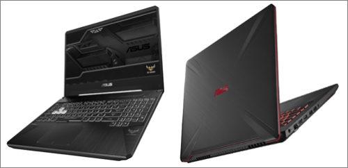 Odolné herní notebooky Asus TUF Gaming FX505 a FX705 míří do prodeje