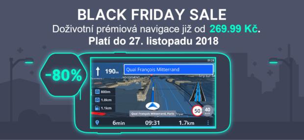 Na Black Friday bude navigace od Sygic historicky nejlevnější