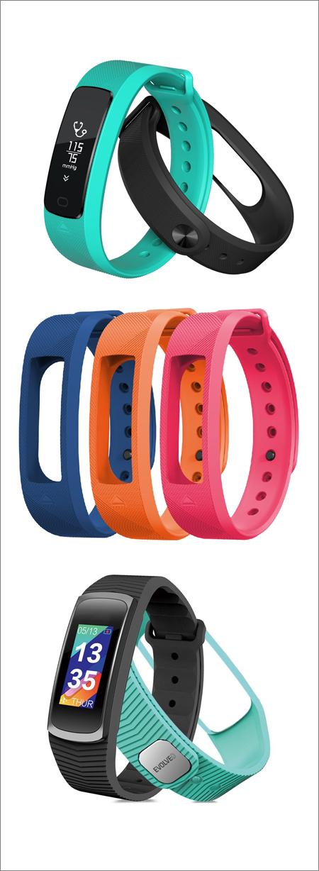 Chytré náramky Evolveo FitBand v nových barvách a za výhodnější cenu