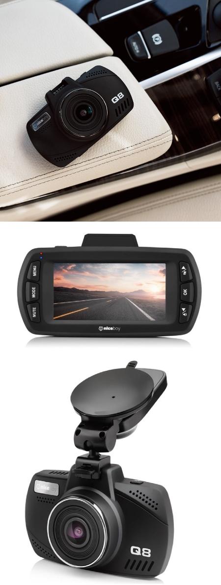 Pilot Q3 a Pilot Q8 jsou dvě nové autokamery od Niceboy