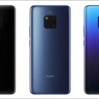 Huawei během roku prodal 16 milionů smartphonů P20 a P20 Pro