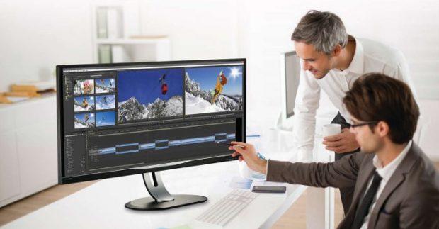 Monitor Philips BDM3470UP láká na širokoúhlý displej