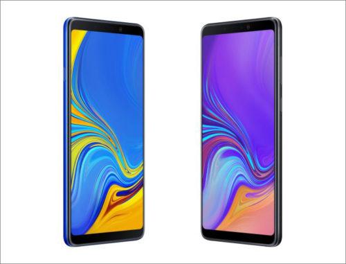 Samsung Galaxy A9 (2018) se čtyřmi fotoaparáty vstupuje na český trh
