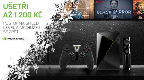 Nvidia Shield TV opět výrazně zlevňuje