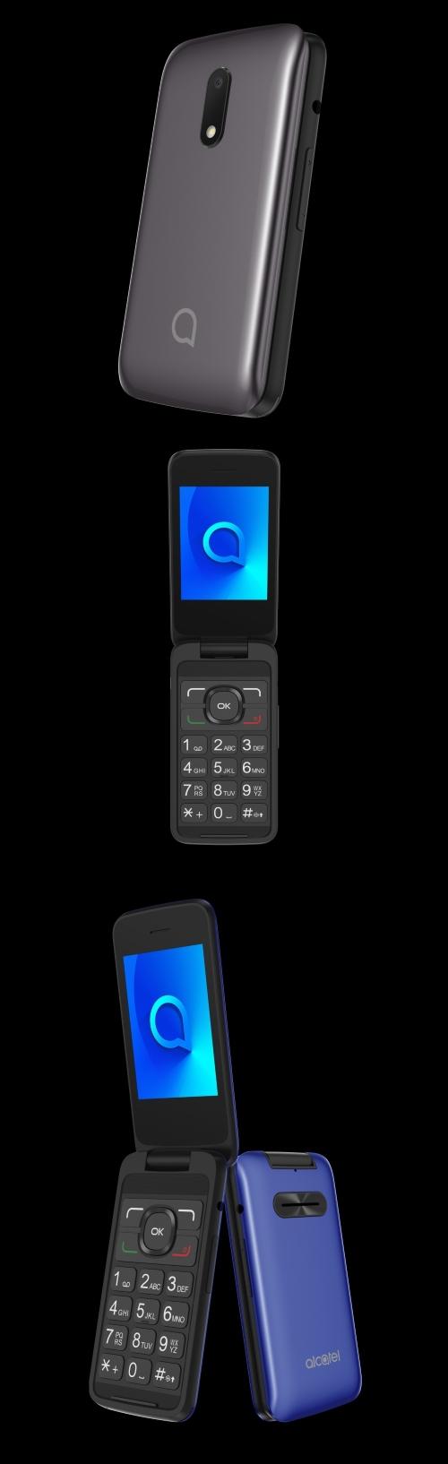 """Alcatel 3025X: jednoduché """"véčko"""" s velkými tlačítky"""