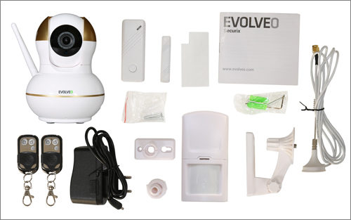 IP kameru Evolveo Securix můžete ovládat chytrým telefonem