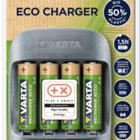 Varta Eco Charger: praktická nabíječka baterií s důrazem ne ekologii