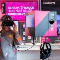 Virtuální realita vám zpříjemní čekání v prodejně T-Mobile na Roztylech