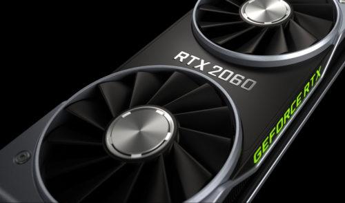 Nvidia představila grafickou kartu GeForce RTX 2060