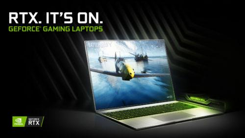 Grafiky GeForce RTX se objeví v rekordním počtu nových herních notebooků