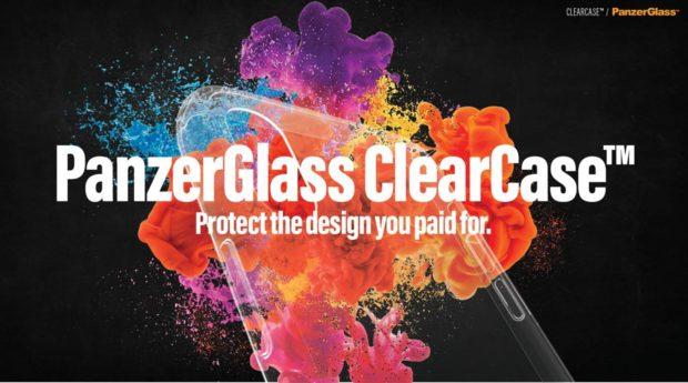PanzerGlass ClearCase je skleněný kryt pro smartphony