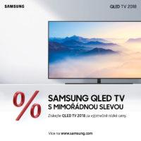 Samsung spustil novoroční výprodej prémiových televizorů QLED