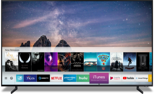 Chytré televizory Samsung nabídnou iTunes Movies & TV Shows a podporu Apple AirPlay 2