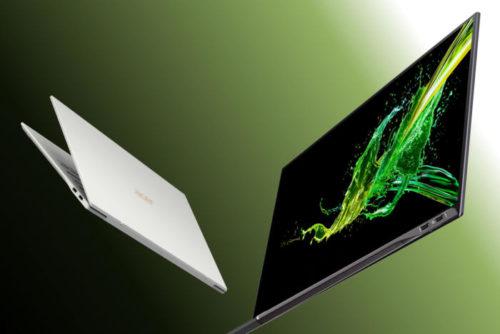 Acer Swift 7 (SF714-52T) je slušně vybavený a lehký notebook