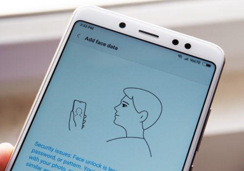 Mobily Xiaomi konečně v Česku odemknete obličejem