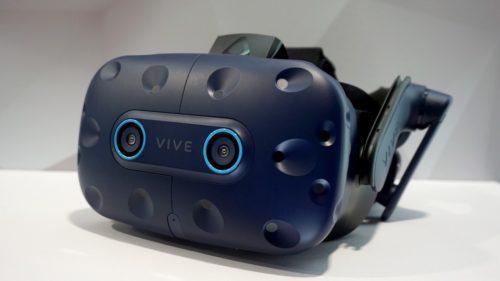 HTC Vive Pro Eye přináší ovládání virtuální reality pohledem
