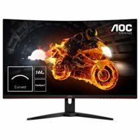 Zakřívený monitor AOC CQ32G1 uspokojí i náročné hráče