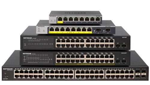 Nové firemní gigabitové přepínače NETGEAR GS308T a GS310T
