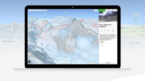 Mapy.cz představují plastické 3D modely pro zimu i léto