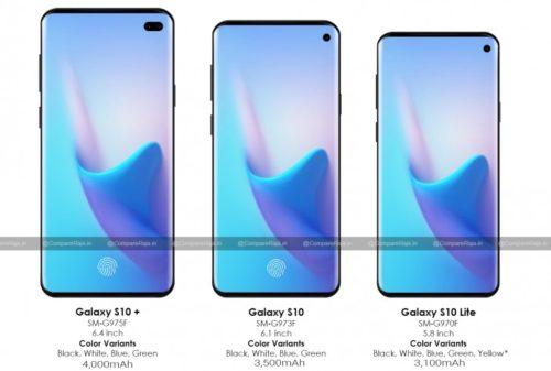 O novém Samsungu Galaxy S10 už víme vše. Takto telefon vypadá