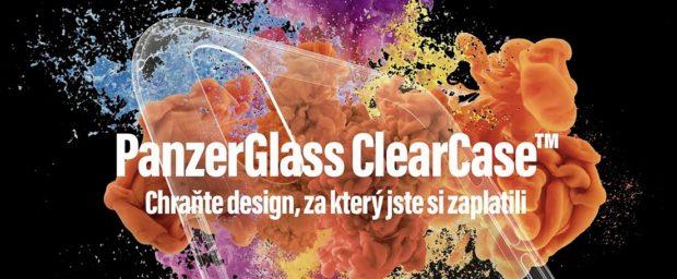 PanzerGlass pro smartphony Samsung Galaxy S10 připravil pouzdro ClearCase