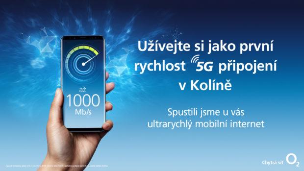 O2 testuje v Kolíně mobilní síť s rychlostí 5G