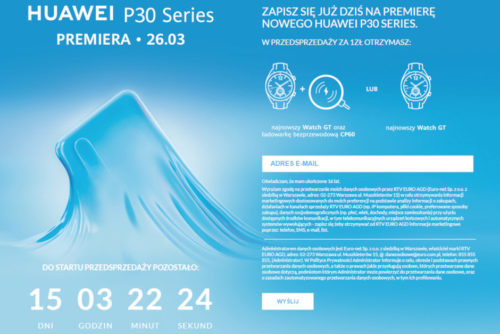 Huawei podpoří předobjednávky P30 a P30 hodnotnými dárky zdarma