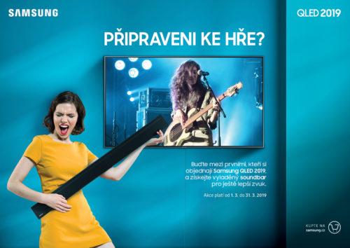 Samsung zahájil předobjednávky na nové 4K QLED TV a nabízí k nim soundbar zdarma