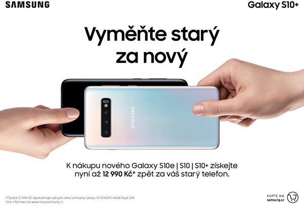 Nový Samsung Galaxy S10 nyní můžete mít až o 12 990 Kč levněji