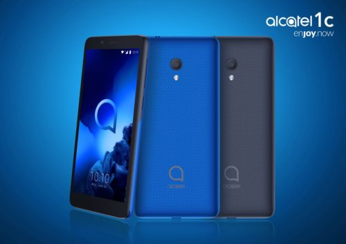 Alcatel 1C: Smartphone s Full View displejem a Androidem Go Edition