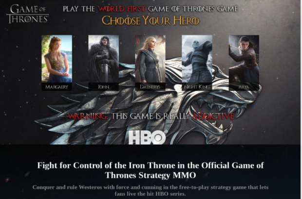 Fanoušci Game of Thrones by si měli dát pozor na phishing a další kyberhrozby