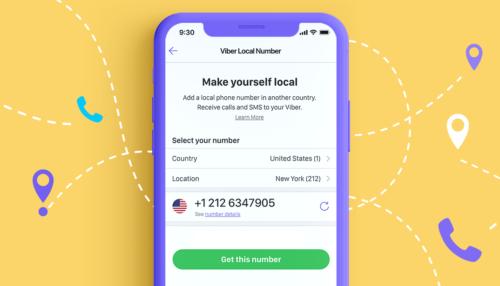 Viber umožňuje přijímat telefonické hovory a SMS zprávy bez roamingových poplatků