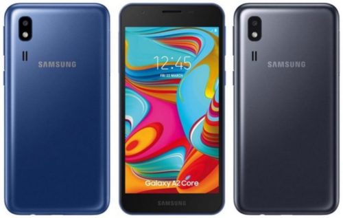 Samsung Galaxy A2 Core Android Pie (Go Edition) je určen pro nenáročné