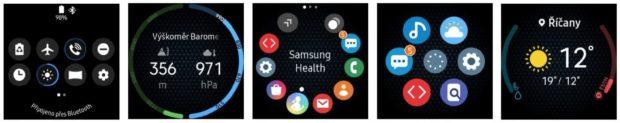 Samsung vydává uživatelské rozhraní One UI pro Galaxy Watch, Gear Sport a Gear S3
