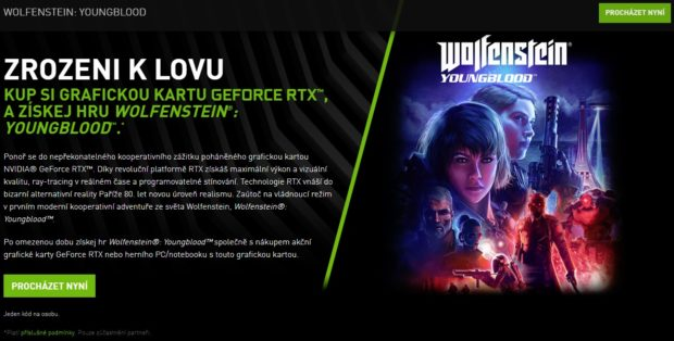 Nvidia a Bethesda zařazují Wolfenstein: Youngblood mezi tituly s podporou ray tracingu