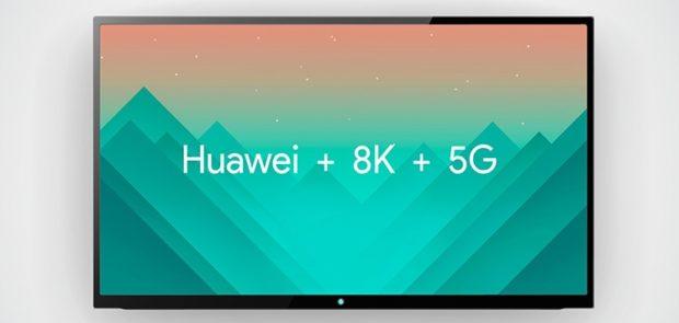 Huawei pracuje na 8K televizoru s podporou 5G
